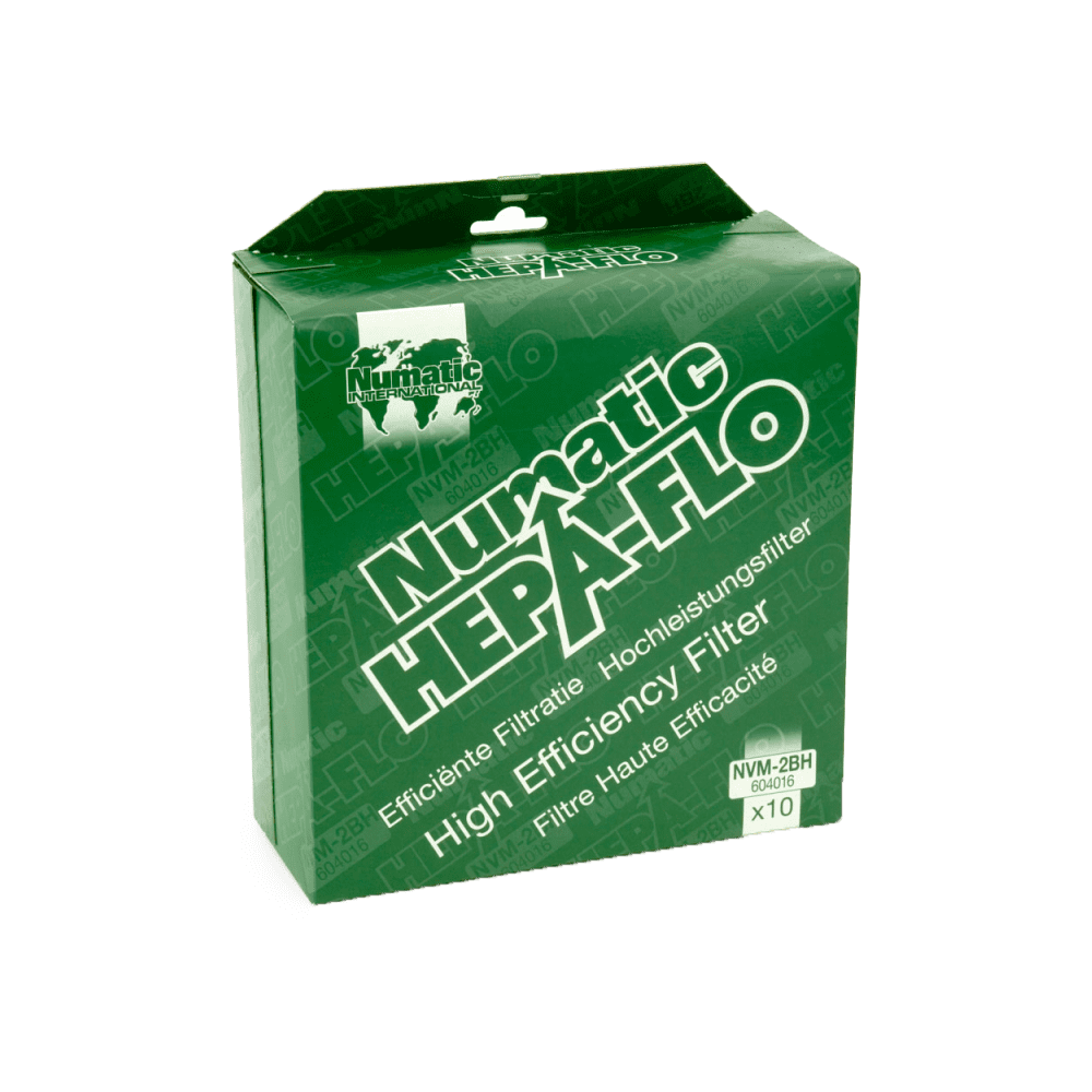 Numatic HepaFlo Filter Bags x10 (NVM-2BH) for Charles & George