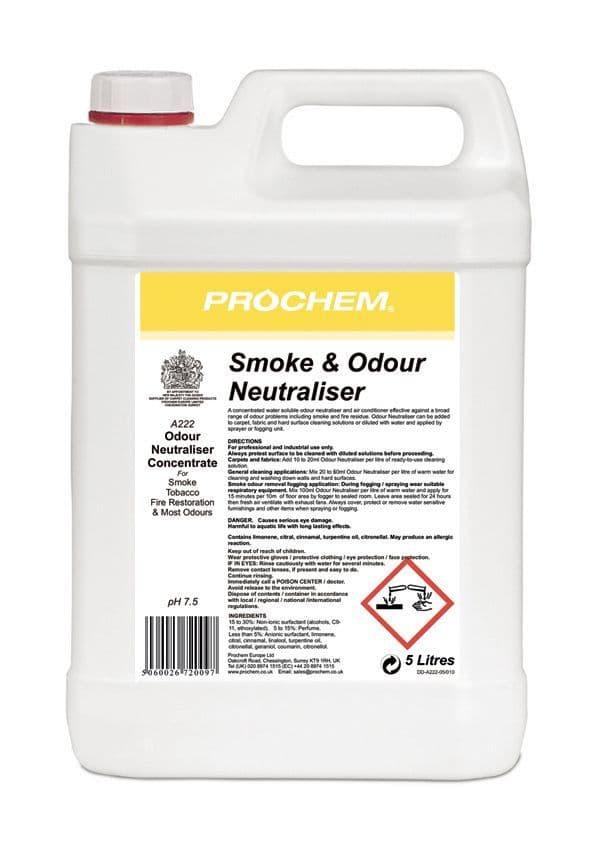 Prochem Smoke & Odour Neutraliser 5L