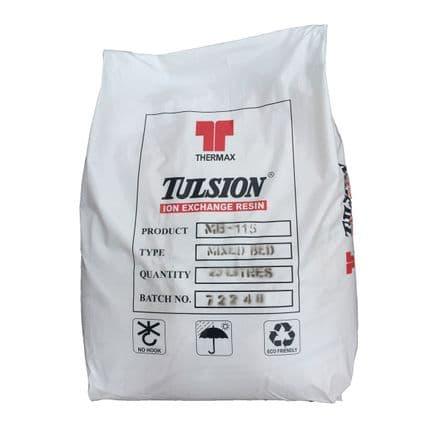 Tulsion 115 Mixed Bed DI Resin 25l