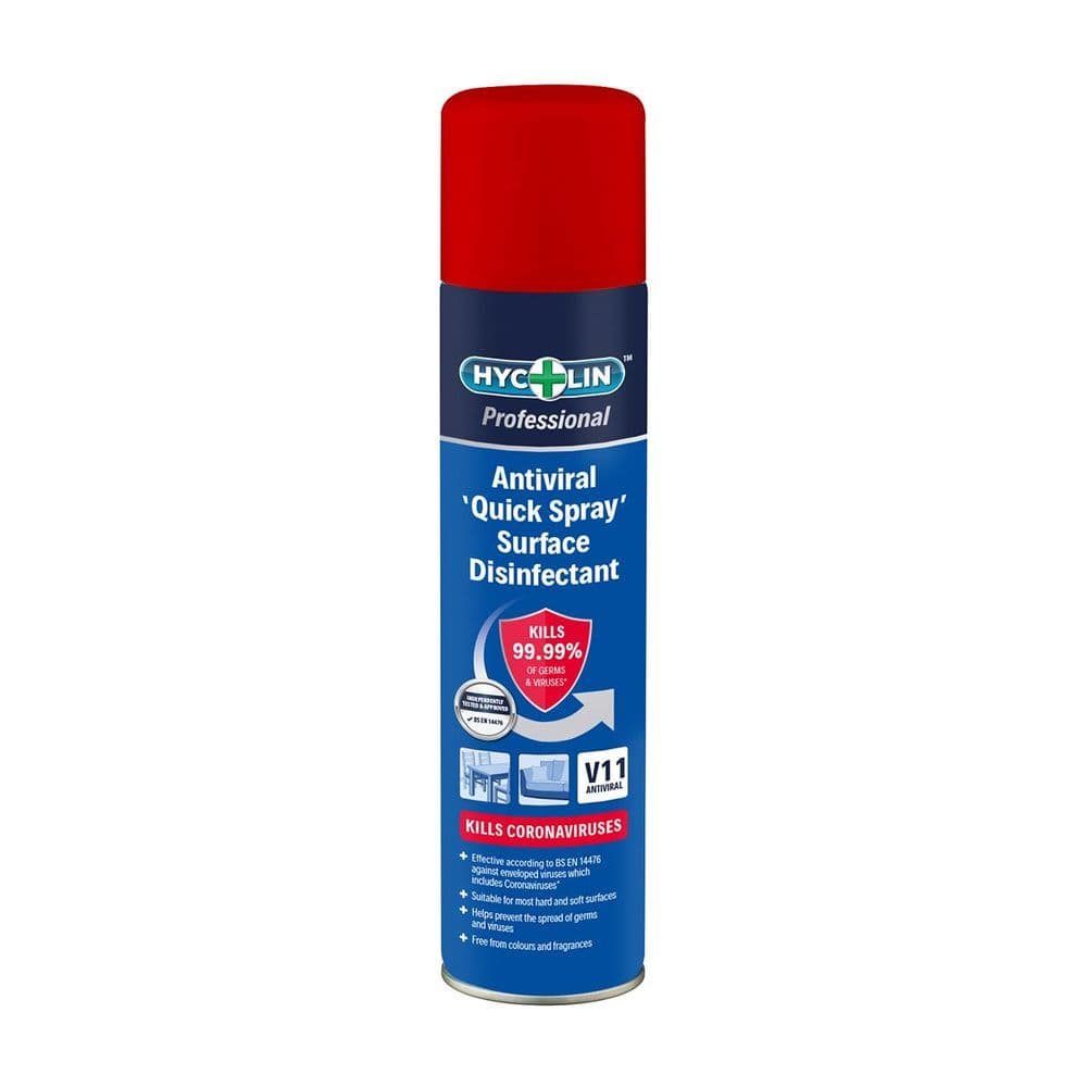 V11 Hycolin Professional Antiviral 'Quick Spray' Surface Disinfectant 300ml