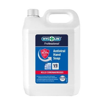 V8 Hycolin Professional Antiviral Hand Soap 5L