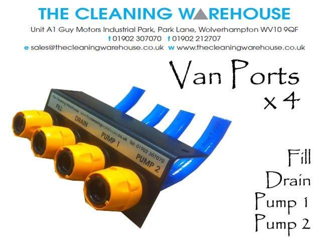 Van Ports x 4 Complete