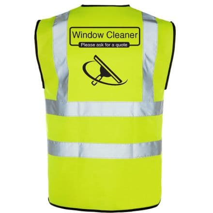 Window Cleaning Hi-Vis Vest