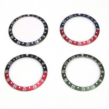 Bezel Insert For ROLEX GMT Master II Watch Dial Replacement Part