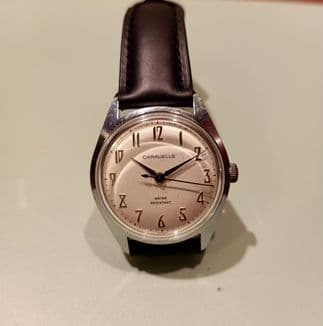 Caravelle (Bulova) 70s Silver Dial Manual Wind Watch