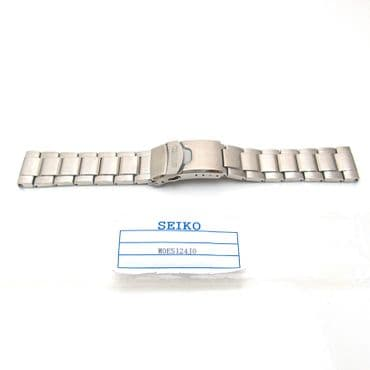 SEIKO MONSTER Watch Bracelet Strap ORIGINAL Band Mens Stainless Steel 22mm S55B